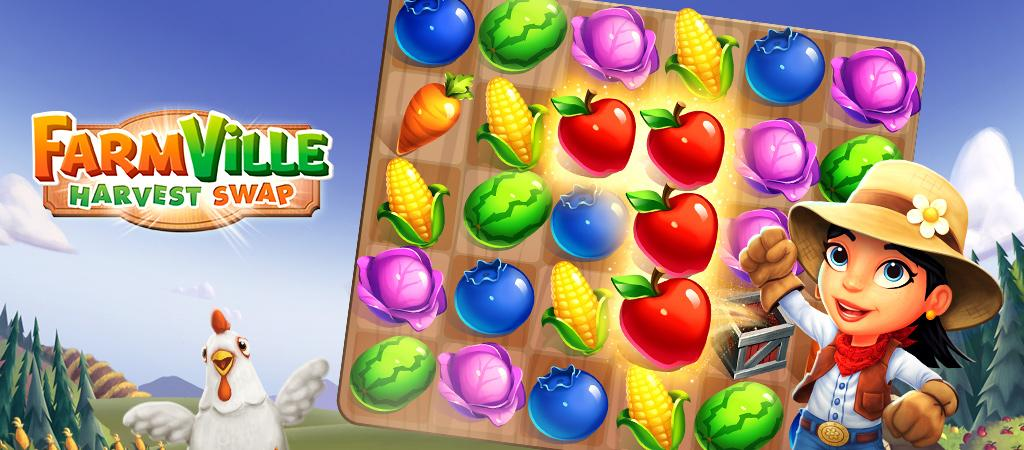 FarmVille: Harvest Swap Hero Image