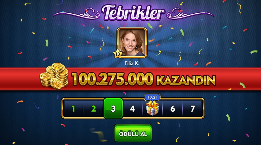 Çanak Okey Plus Game Screenshot
