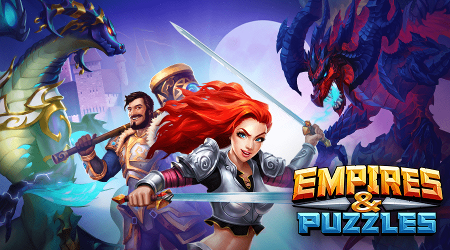 Empires & Puzzles: RPG Quest Game Screenshot