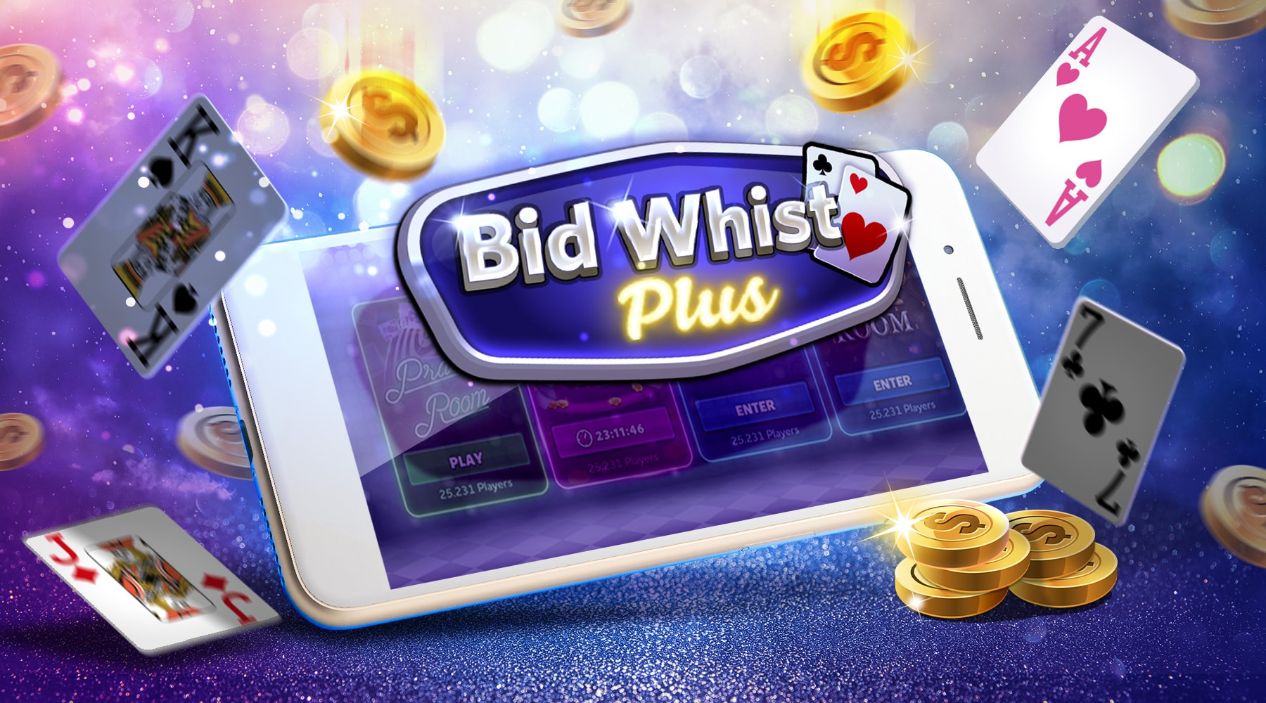 Bid Whist Plus Hero Image