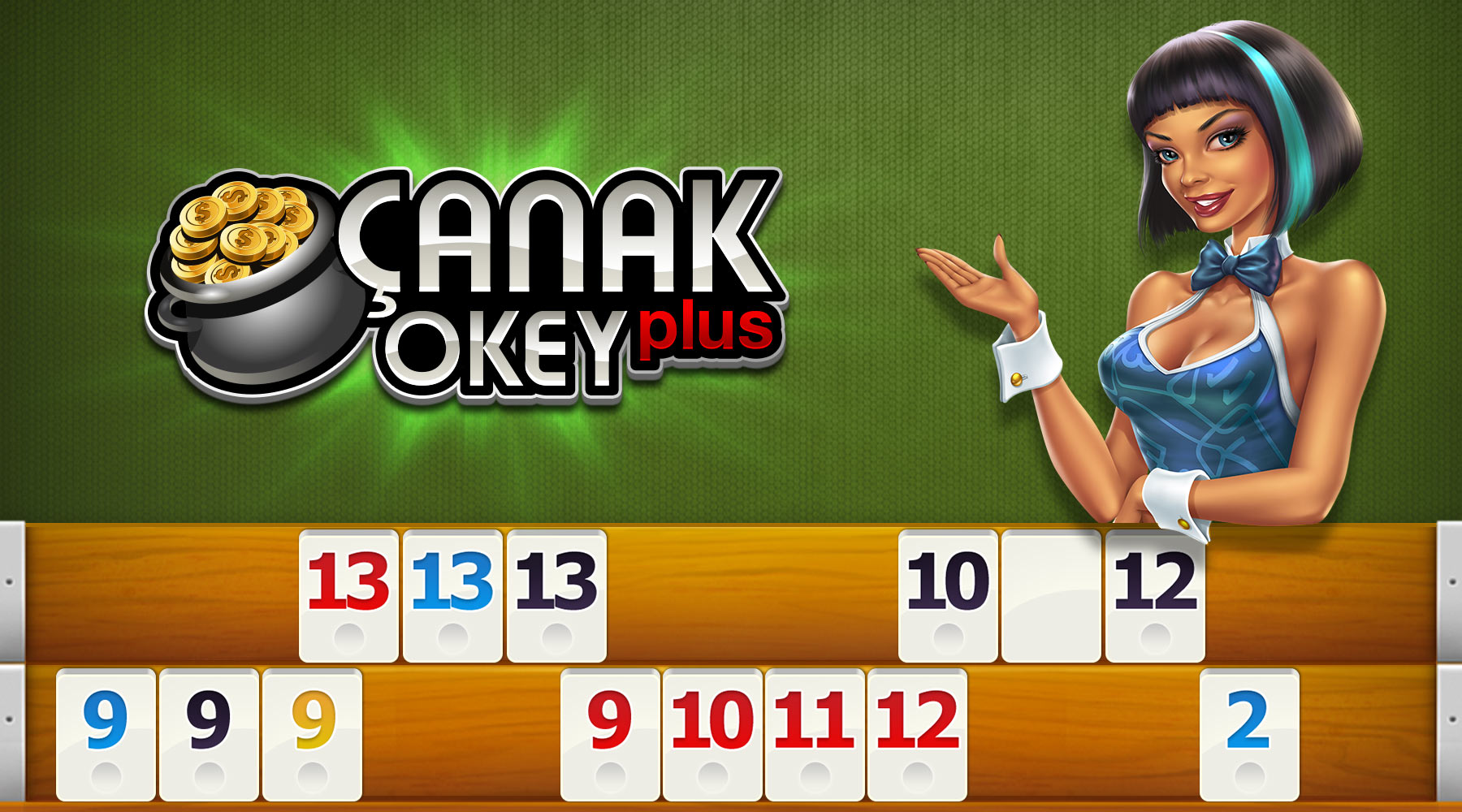 Çanak Okey Plus Hero Image