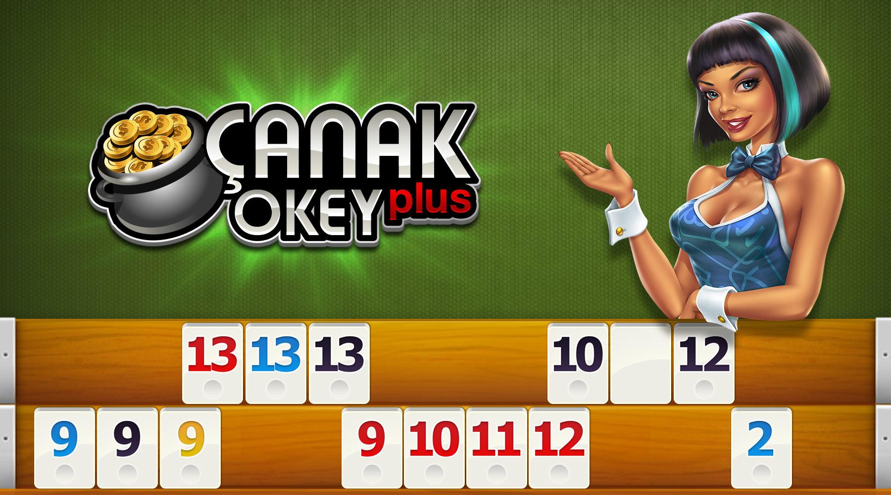 Çanak Okey Plus Hero Image