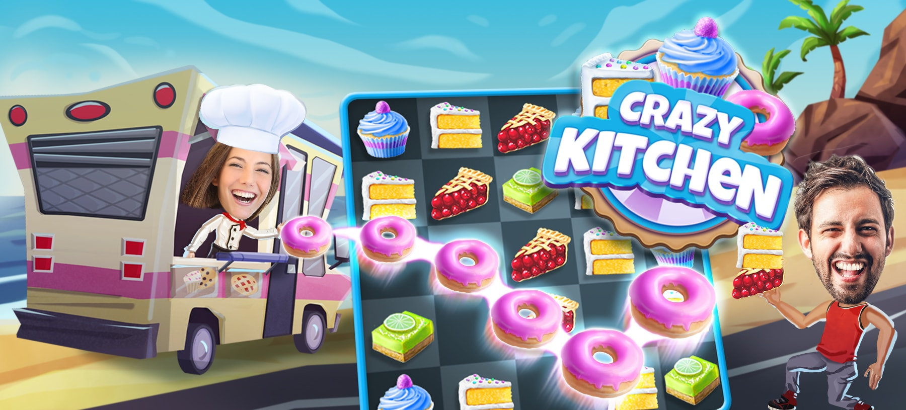 Crazy Kitchen Hero Image