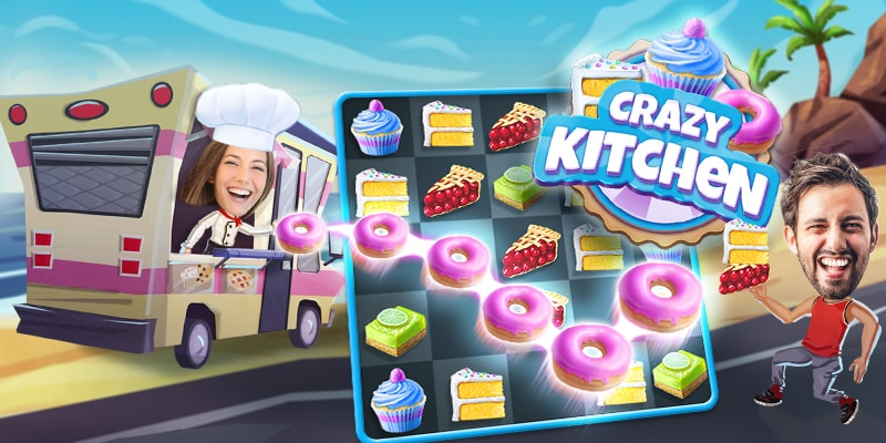 Crazy Kitchen Game Screenshot