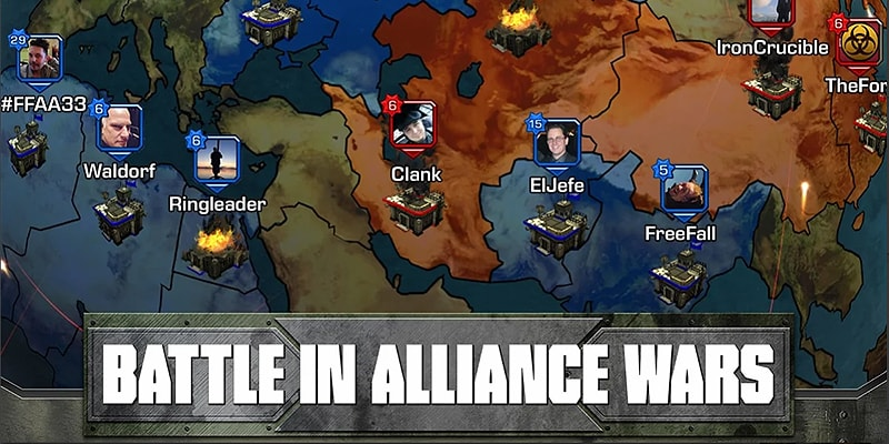 Empires and Allies Game Screenshot
