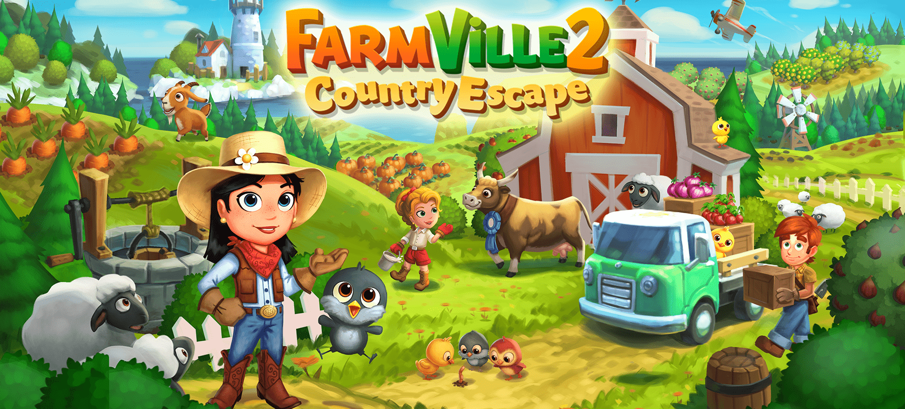 FarmVille 2: Country Escape Hero Image