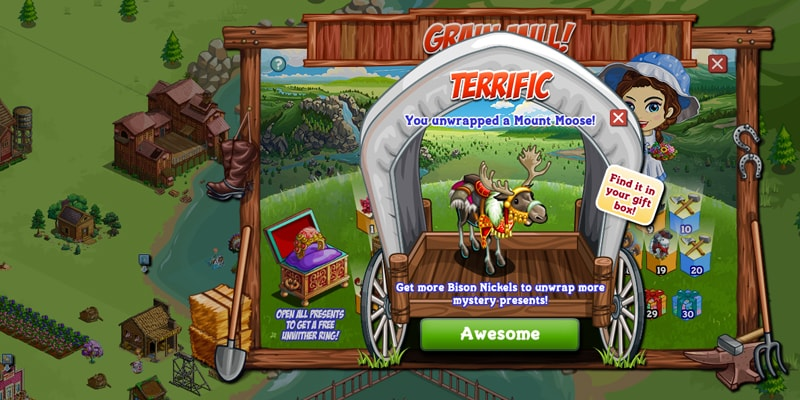 FarmVille Game Screenshot