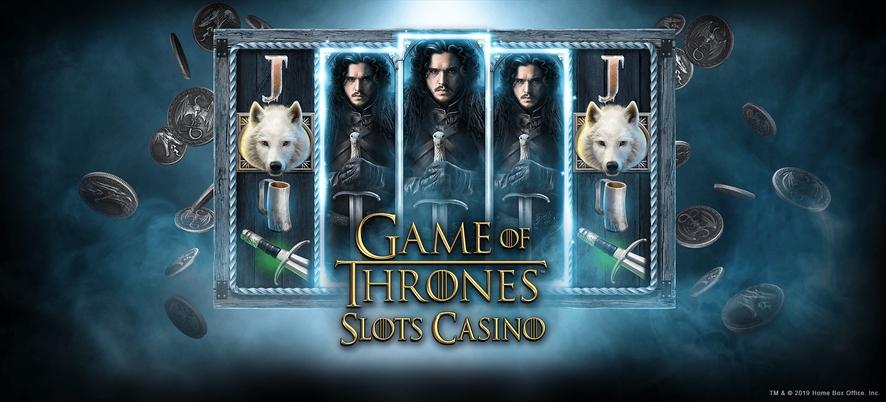 Game of Thrones Slots Casino Hero Image