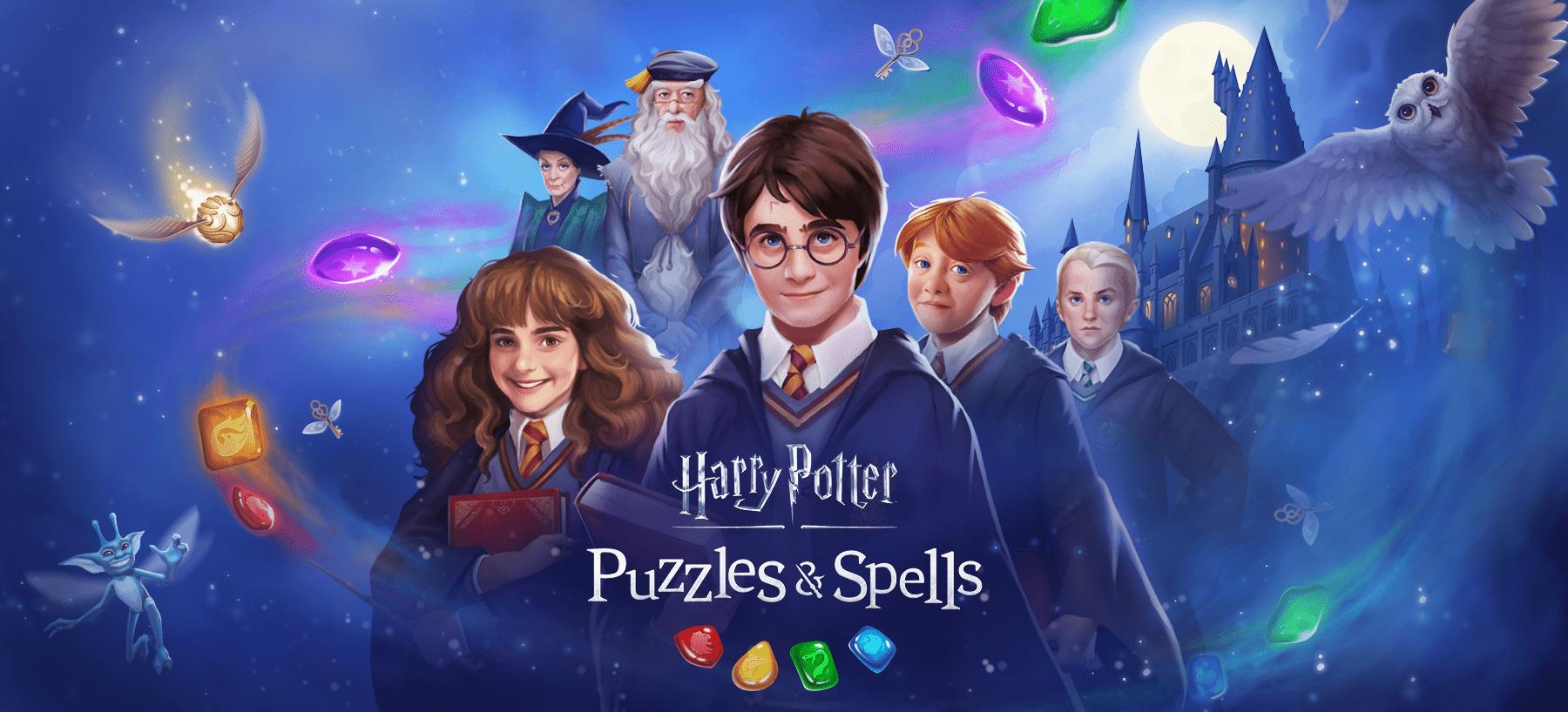 Harry Potter: Puzzles & Spells Hero Image