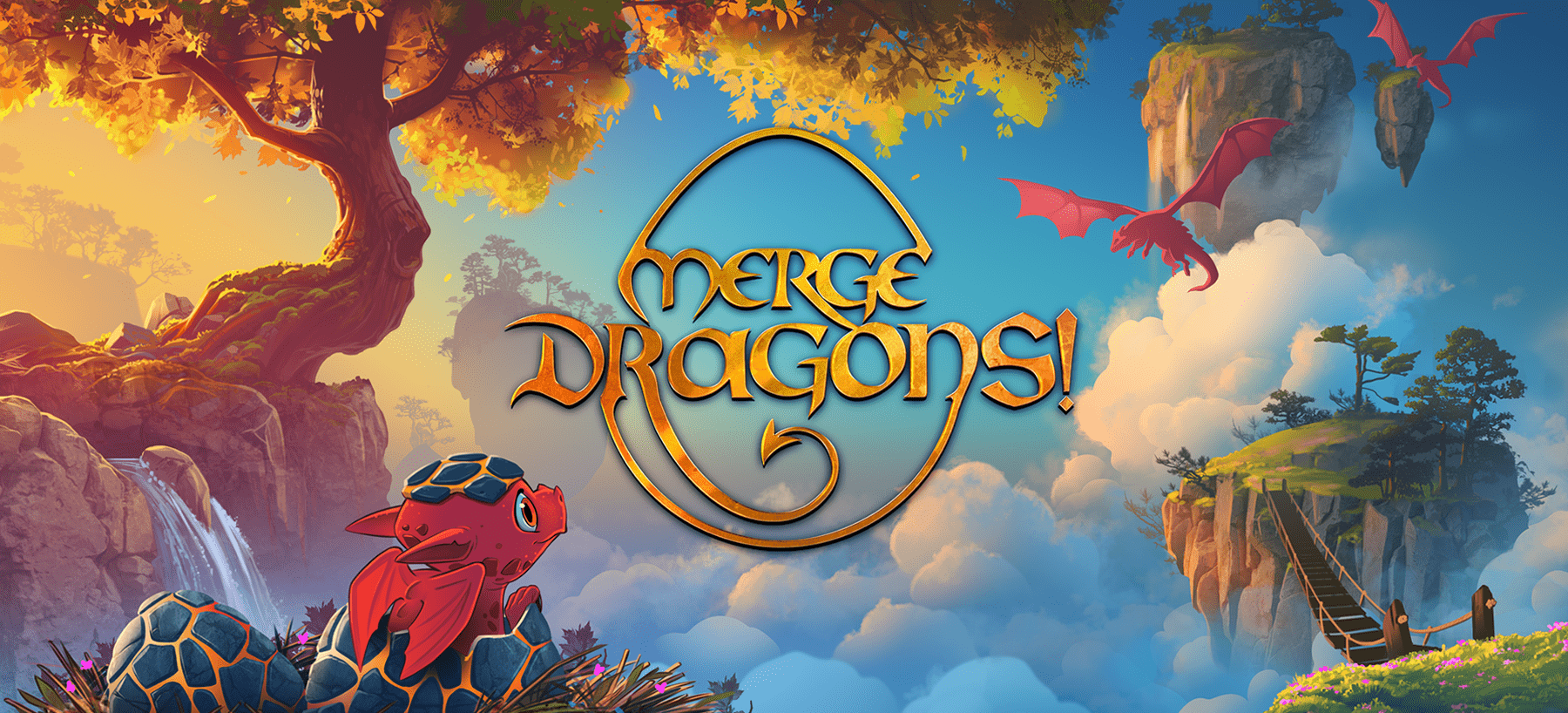 Merge Dragons! Hero Image