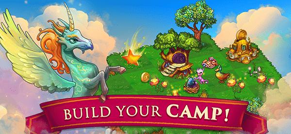 Merge Dragons! Game Screenshot