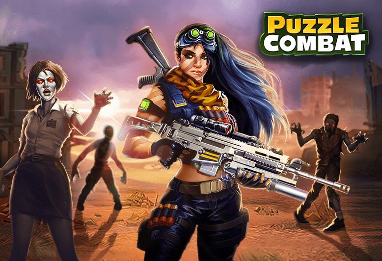 Puzzle Combat Game Screenshot