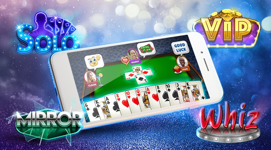 Spades Plus Game Screenshot