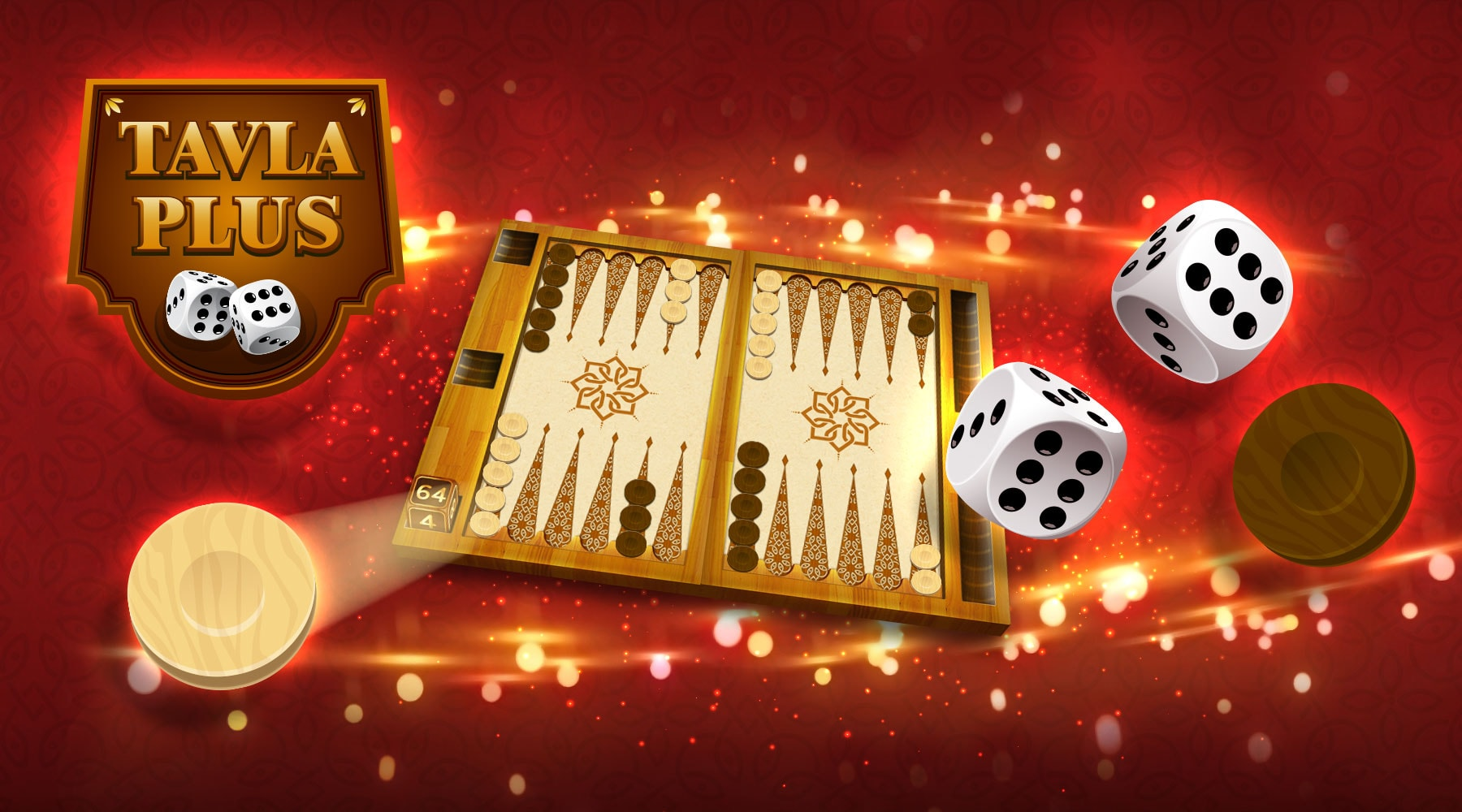 Backgammon Plus Hero Image
