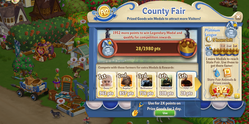 FarmVille 2 Game Screenshot