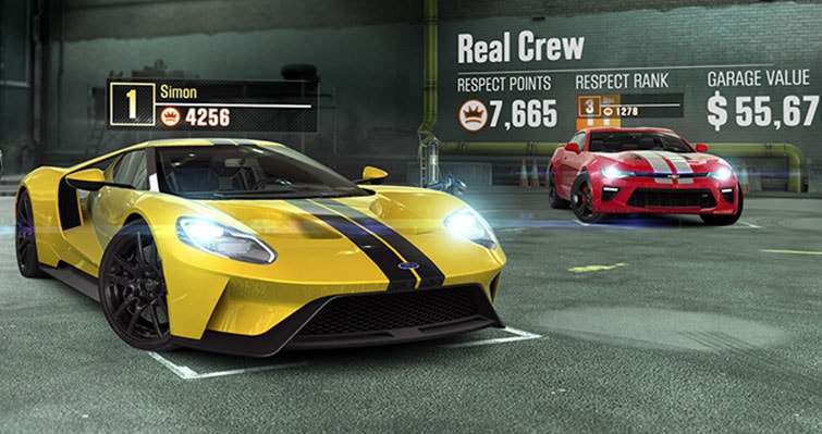 CSR Racing 2 Game Image