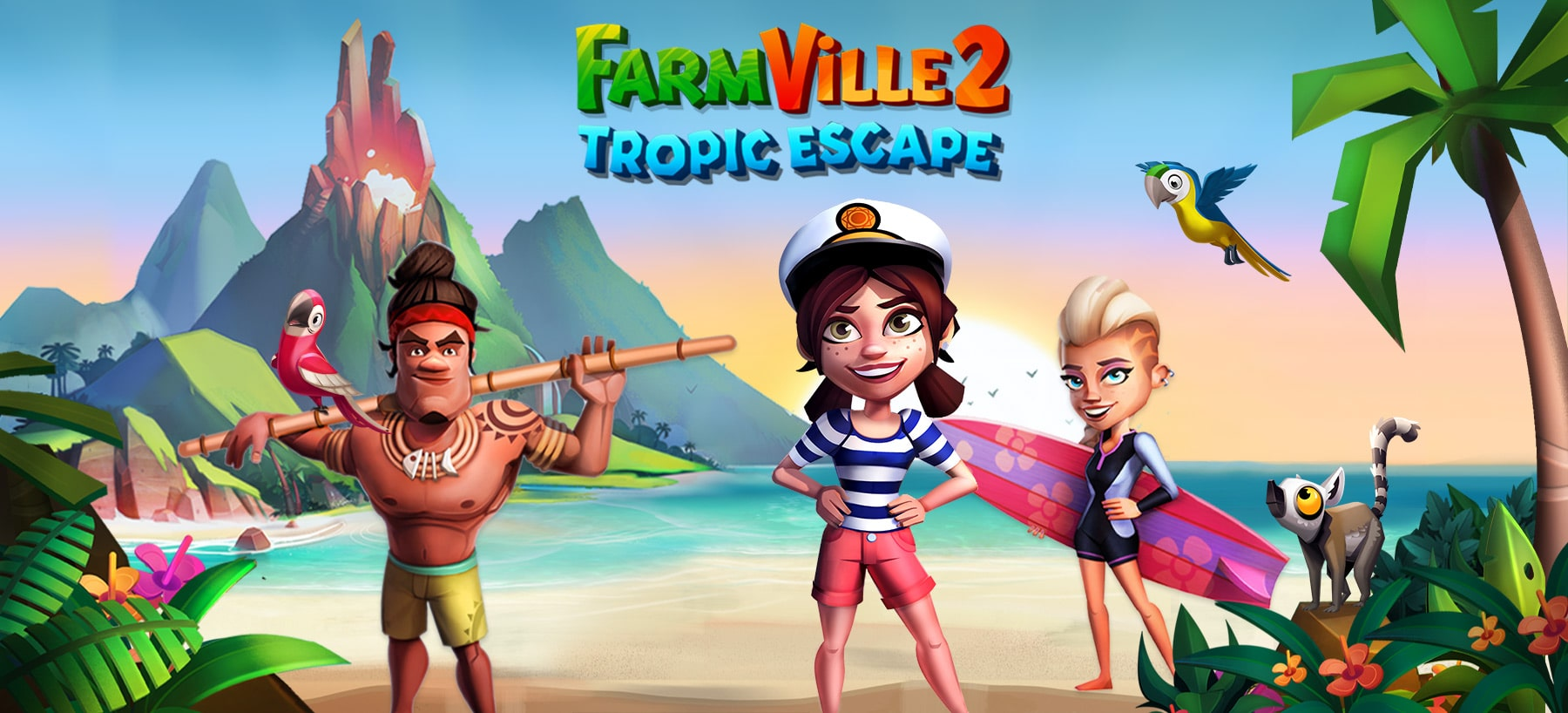 FarmVille 2: Tropic Escape Hero Image