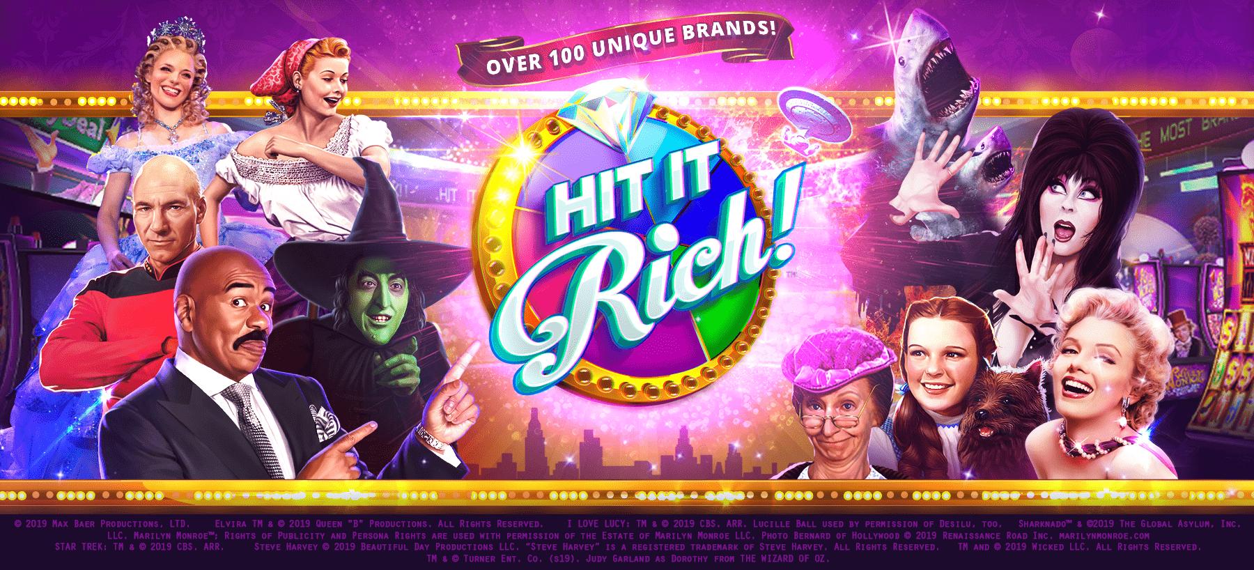 Hit It Rich! Hero Image