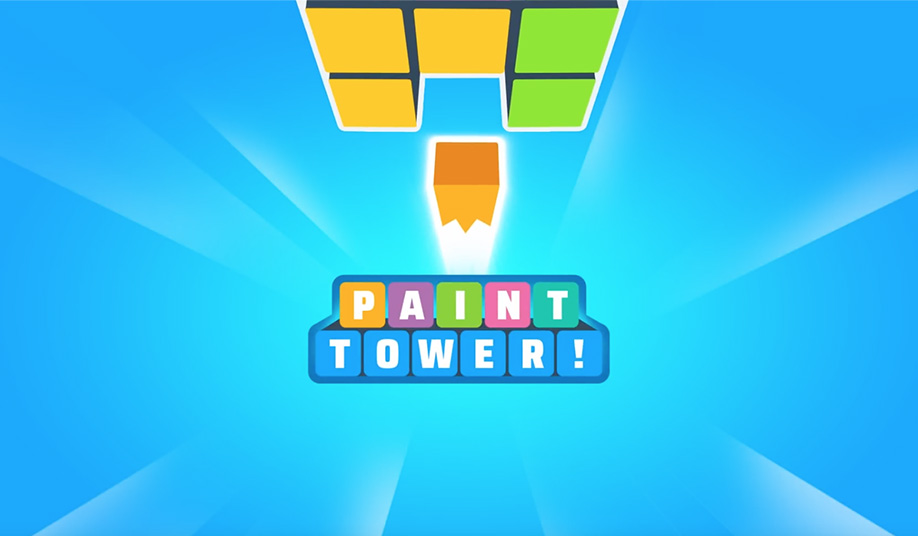 Paint Tower! Game Screenshot