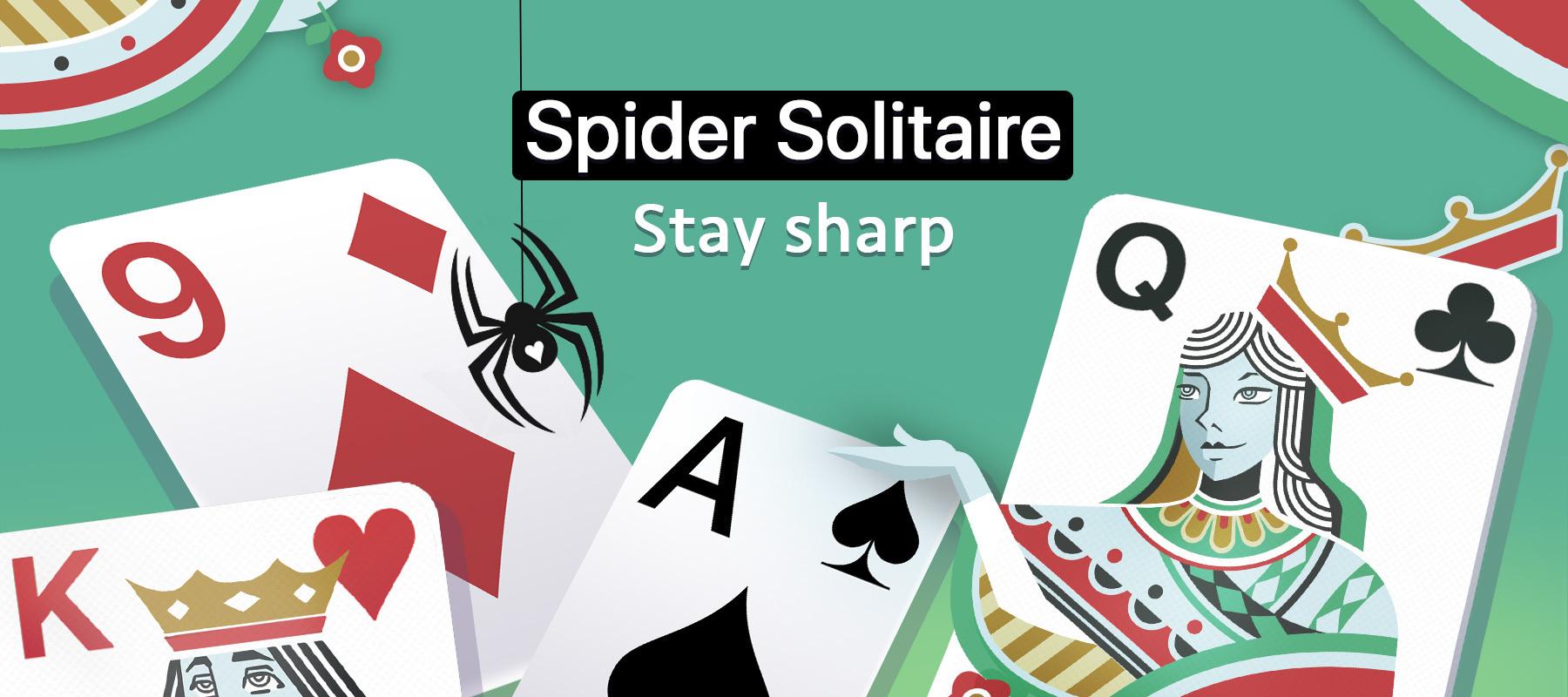 Spider Solitaire Hero Image