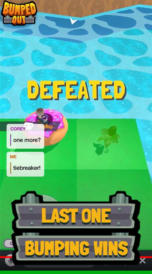 Bumped Out Game Screenshot