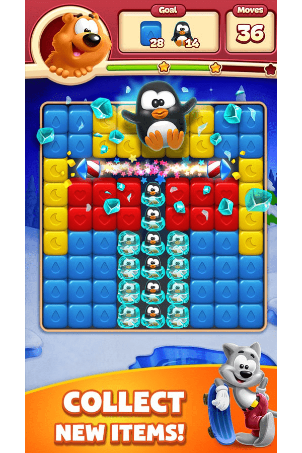 Toon Blast Game Screenshot