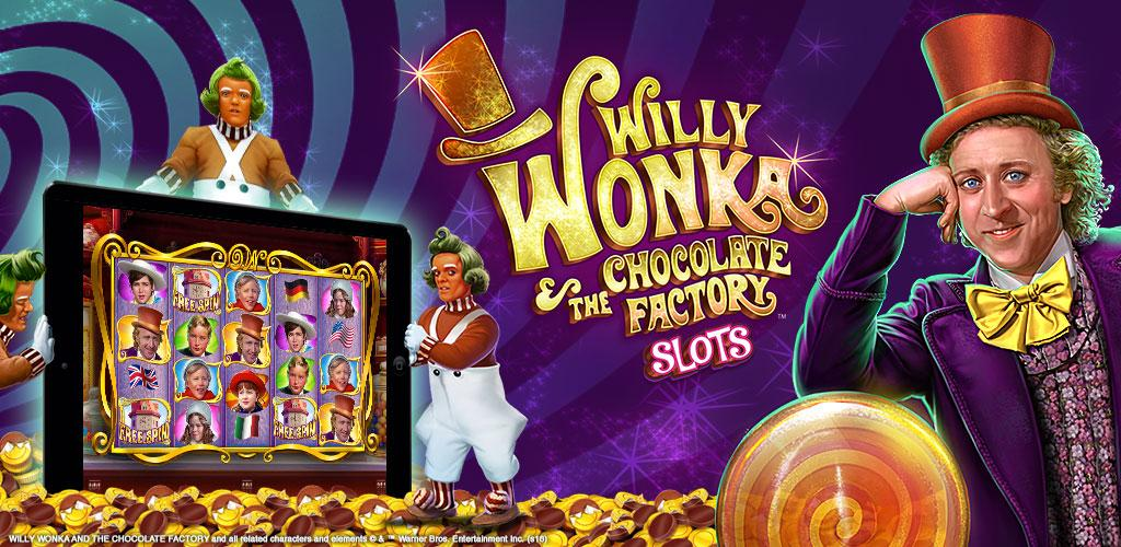 Willy Wonka Slots Hero Image
