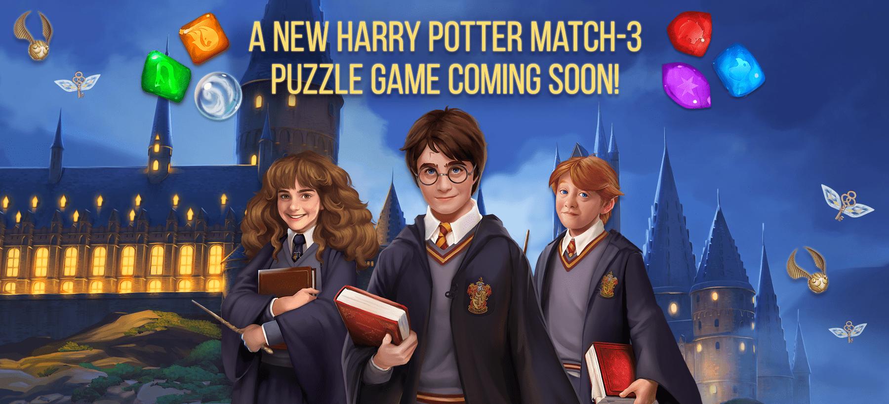 Harry Potter Match-3 Hero Image
